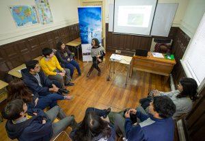 Taller Formación de mediadores en el contexto escolar, Valdivia, 2019